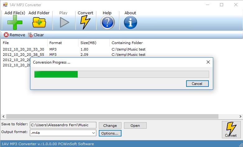 Download Shuangs WAV to MP3 Converter