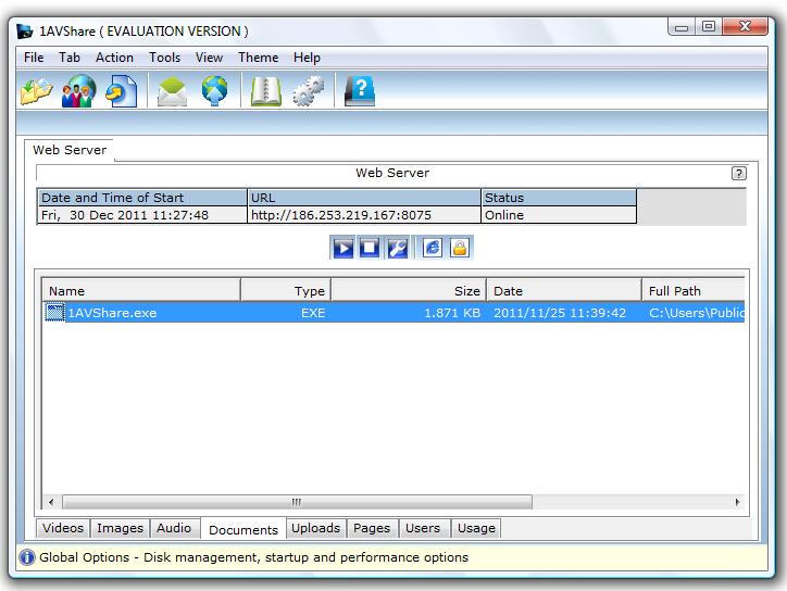 PCWInSoft 1AVShare – 远程文件分享工具丨反斗限免