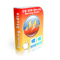 cd dvd blu-ray media burner software for PC