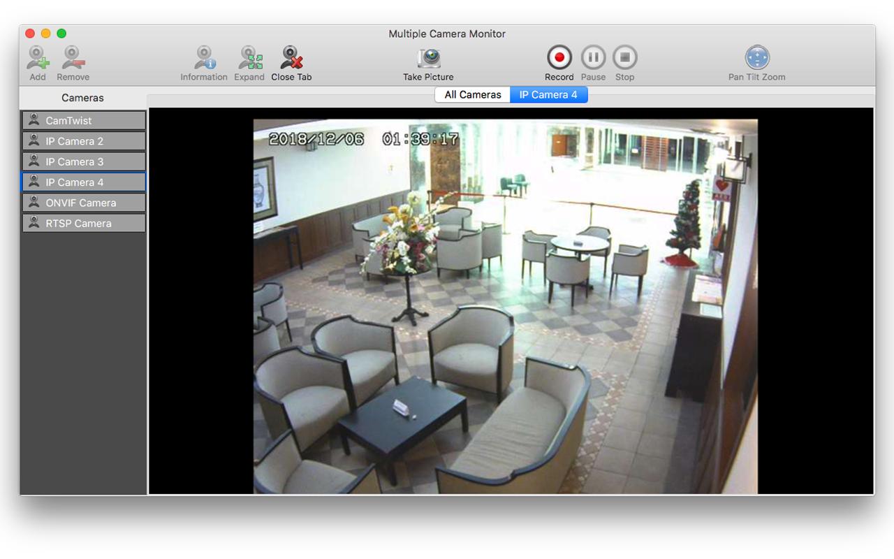 Multiple Camera Monitor: IP camera viewer, multiple camera