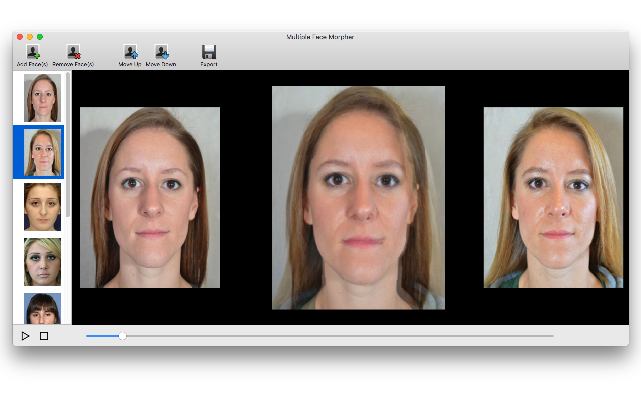 face morphing software