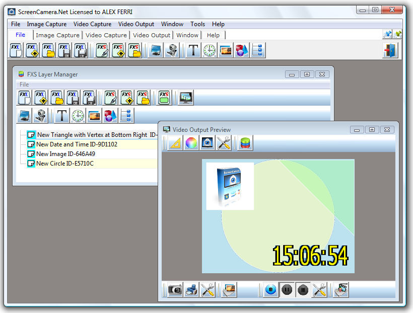 Screenshot for ScreenCamera.Net 1.4.6.30