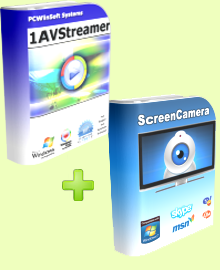 1AVStreamer + ScreenCamera
