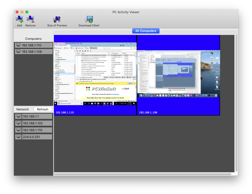 remote desktop control mac
